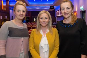 """GMIT iHUBS LAUNCH """"EMPOWER"""" – A NEW ENTRENPRENEURSHIP PROGRAMME FOR WOMEN ?Successful women entrepreneurs to attended the launch in the Connacht Hotel of  """"EMPOWER"""" – A NEW ENTRENPRENEURSHIP PROGRAMME FOR WOMEN ?At the launch were Adele Smith Galway Business (gbs) School Diane and Nevin Gabriela Gliga gbs ?Despite national recognition of female entrepreneurs, Ireland suffers from a low number of women engaged in business startups. Female-led businesses remain an underdeveloped source of economic growth and jobs. As part of a drive to increase the number of female entrepreneurs in Galway, Mayo and Roscommon, GMIT Innovation Hubs will deliver a new regional programme called """"EMPOWER"""", commencing September in GMIT's Galway and Mayo campuses. Funded by the Department of Justice and Equality and the European Social Fund, the EMPOWER programme aims to fast track female-led businesses by addressing specific challenges hindering their development.  Photo:Andrew Downes, xposure"""